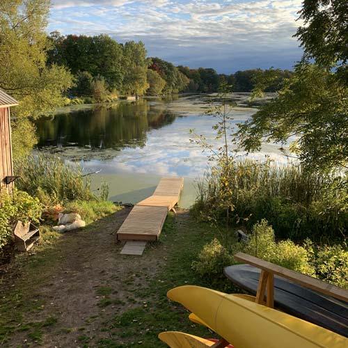 Cabin Fever Kayak Launch